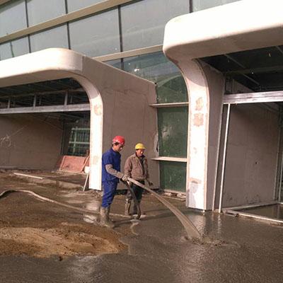 泡沫混凝土工程施工