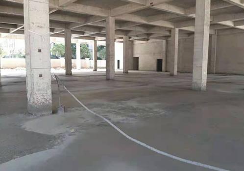 屋面地面保温回填施工