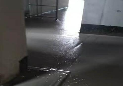 室内地暖泡沫混凝土回填施工案例
