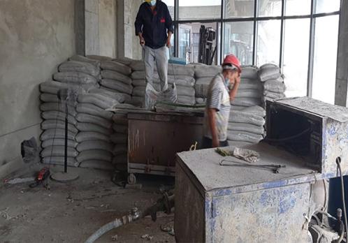 泡沫混凝土屋面保温调坡施工案例